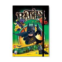 Блокнот с резинкой Lego Batman Movie, 96 листов в линейку
