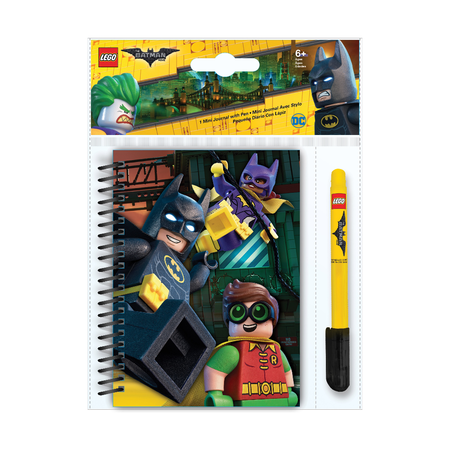 Канцелярский набор Lego Batman Movie, блокнот и ручка