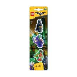 Набор ластиков Lego Batman, Robin, The Joker