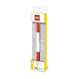 Гелевая ручка Lego, цвет чернил красный
