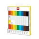 Набор цветных маркеров Lego, 9 шт.