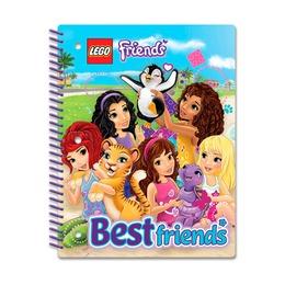 Тетрадь на спирали Lego Friends, 70 листов в линейку