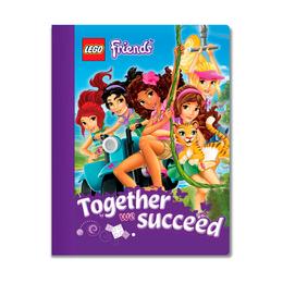 Тетрадь Lego Friends, 100 листов в линейку