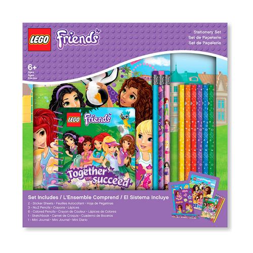 Набор канцелярских принадлежностей Lego Friends