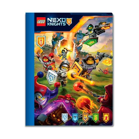 Тетрадь Lego Nexo Knights, 100 листов в линейку
