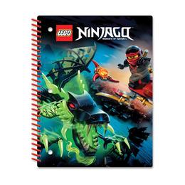 Тетрадь на спирали Lego Ninjago, 70 листов в линейку