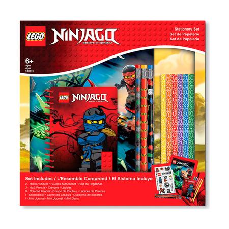 Набор канцелярских принадлежностей Lego Ninjago