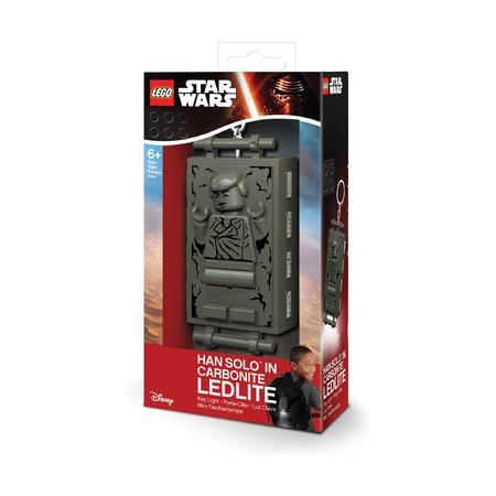 Брелок-фонарик Lego Star Wars Han Solo в карбоните