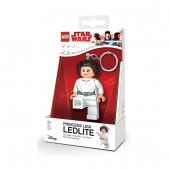 Брелок-фонарик Lego Star Wars принцесса Лея
