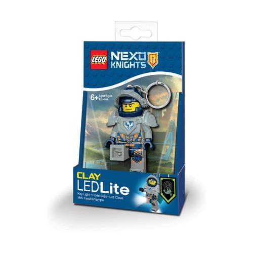 Брелок-фонарик Lego Nexo Knights Clay