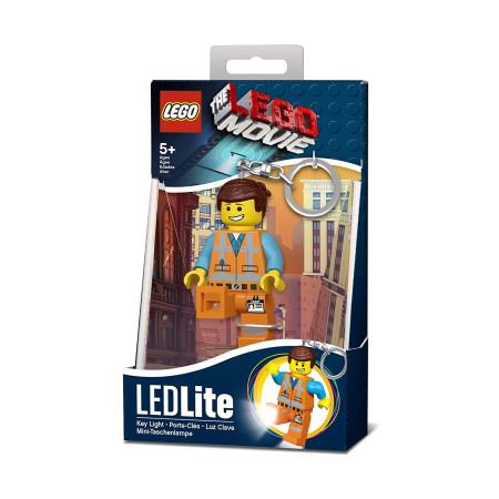 Брелок-фонарик Lego Movie Emmet
