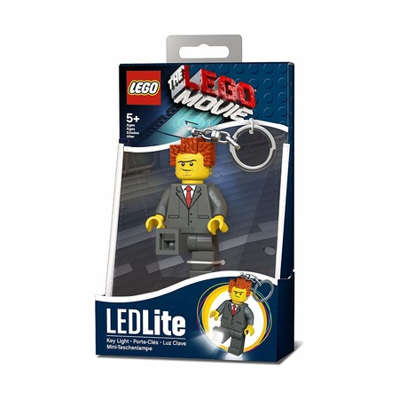 Брелок-фонарик Lego Movie President Business