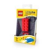 Брелок-фонарик Lego, красный