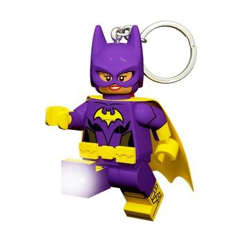 Брелок-фонарик Lego Batman Movie Batgirl