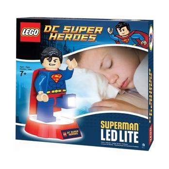 Ночник Lego DC Super Heroes Superman на подставке
