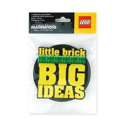 Наклейка круглая Lego