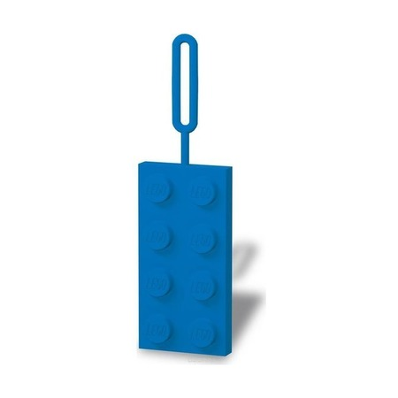 Бирка на ранец Lego, синяя
