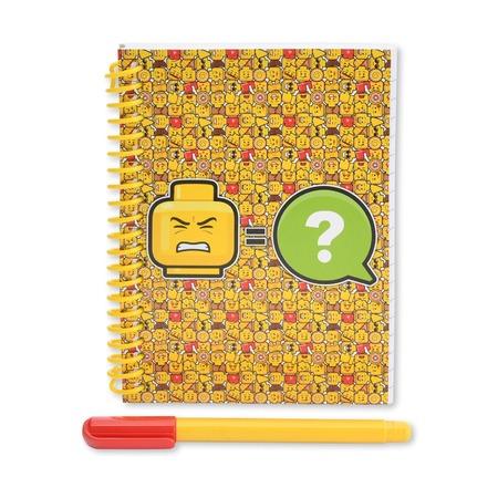 Блокнот с ручкой Lego Iconic, 100 листов в линейку
