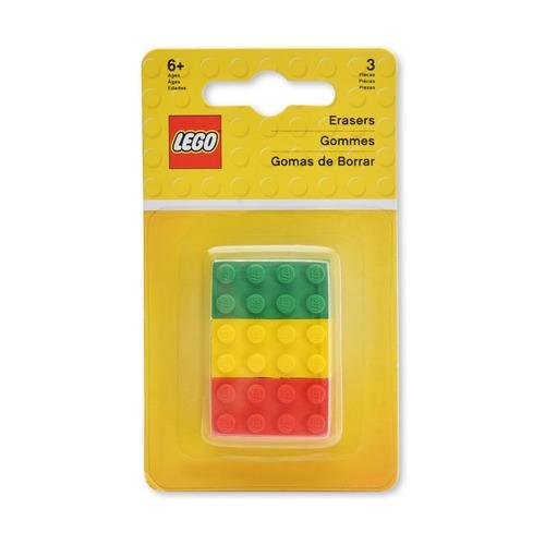 Набор ластиков Lego, 3 шт.