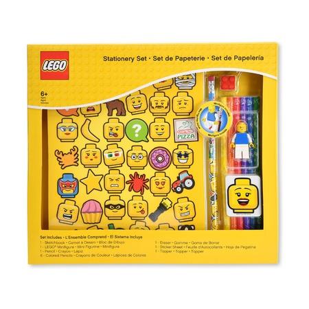 Набор канцелярский Lego Iconic, 11 предметов
