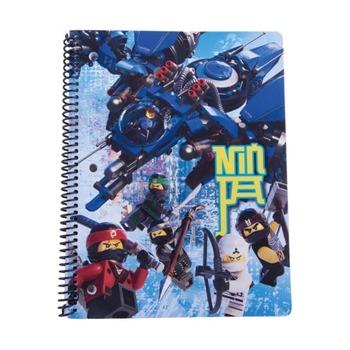 Тетрадь на спирали Ninjago Movie, 70 листов в линейку