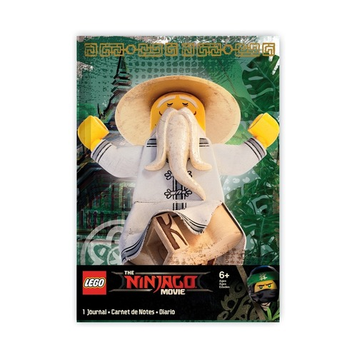 Блокнот Lego Sensei Wu, 96 листов в линейку