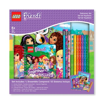 Канцелярский набор Lego Friends, 13 предметов