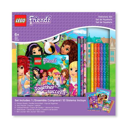 Канцелярский набор Lego Friends, 13 предметов