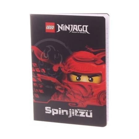 Тетрадь А5 32 листов в линейку Lego Ninjago