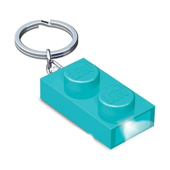 Брелок-фонарик Lego Friends, голубой