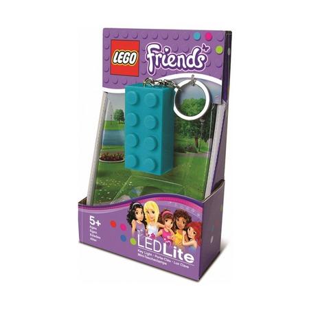 Брелок-фонарик Lego Friends, лазурный