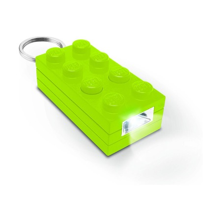 Брелок-фонарик Lego Friends, лайм