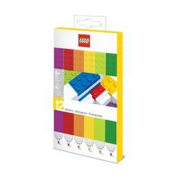 Набор цветных маркеров Lego, 12 шт
