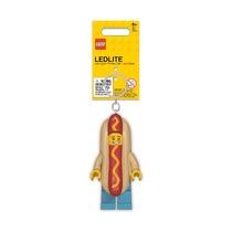 Брелок-фонарик Lego Hot Dog Man