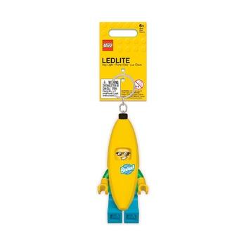 Брелок-фонарик Lego Banana Guy