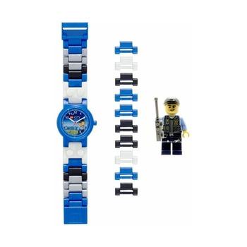 Часы наручные Lego City Policeman с фигуркой