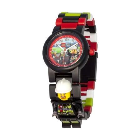 Часы наручные Lego City Fireman с фигуркой