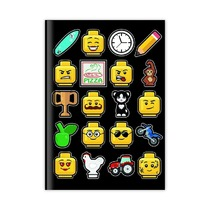Блокнот Lego, черный