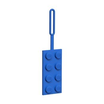 Бирка для багажа Lego, синяя