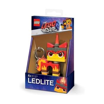 Брелок-фонарик для ключей Lego Movie 2 Angry Kitty