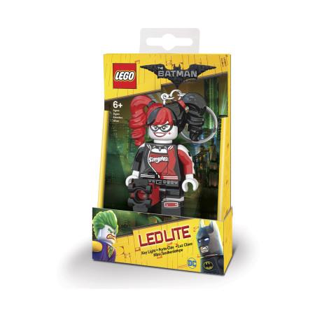 Брелок-фонарик для ключей Lego Batman Movie Harley Quinn