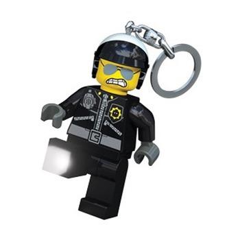 Брелок-фонарик для ключей Lego Movie Bad Cop