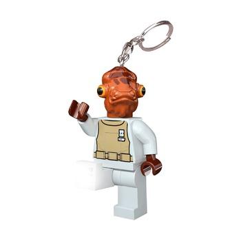 Брелок-фонарик для ключей Lego Star Wars Admiral Ackbar