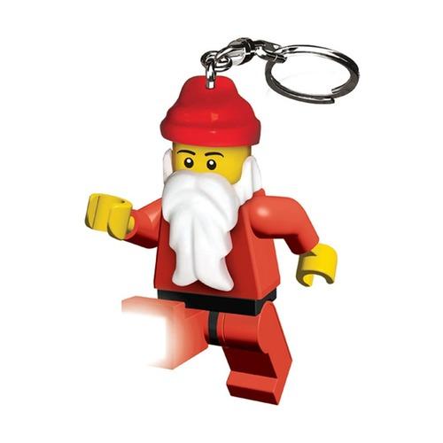 Брелок-фонарик Lego Santa