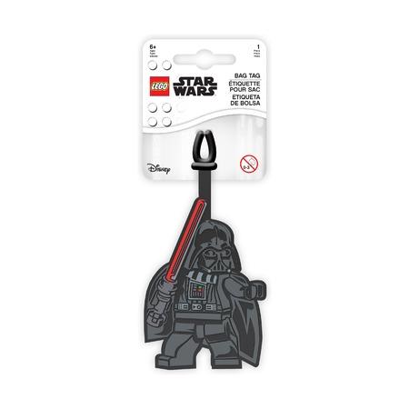Бирка для багажа Lego Star Wars Darth Vader