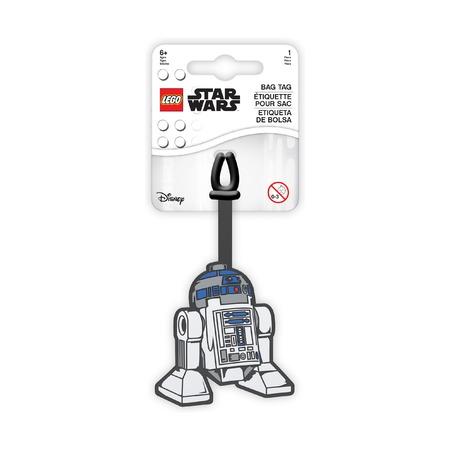 Бирка для багажа Lego Star Wars R2D2