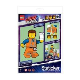 Набор многоразовых наклеек Lego Movie 2 Emmet