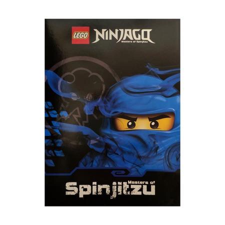 Тетрадь А5 32 листа в клетку Lego Ninjago