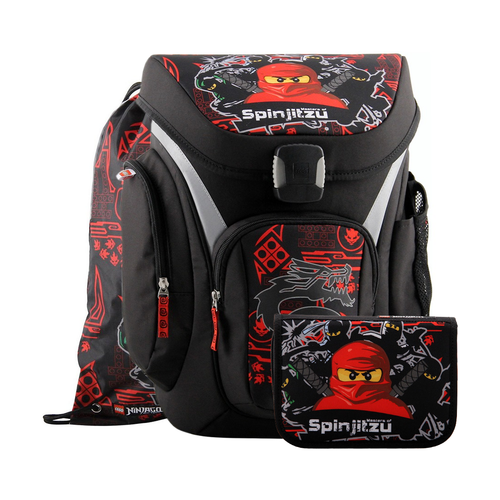 Ранец Explorer Ninjago Team Ninja, с наполнением