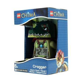 Будильник Lego Legends of Chima, минифигура Cragger